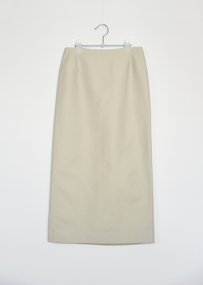 H-lined Cotton Skirt