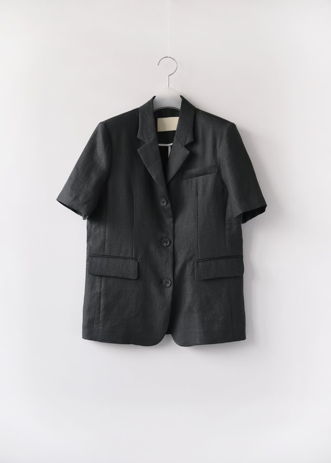Set-up Linen Jacket