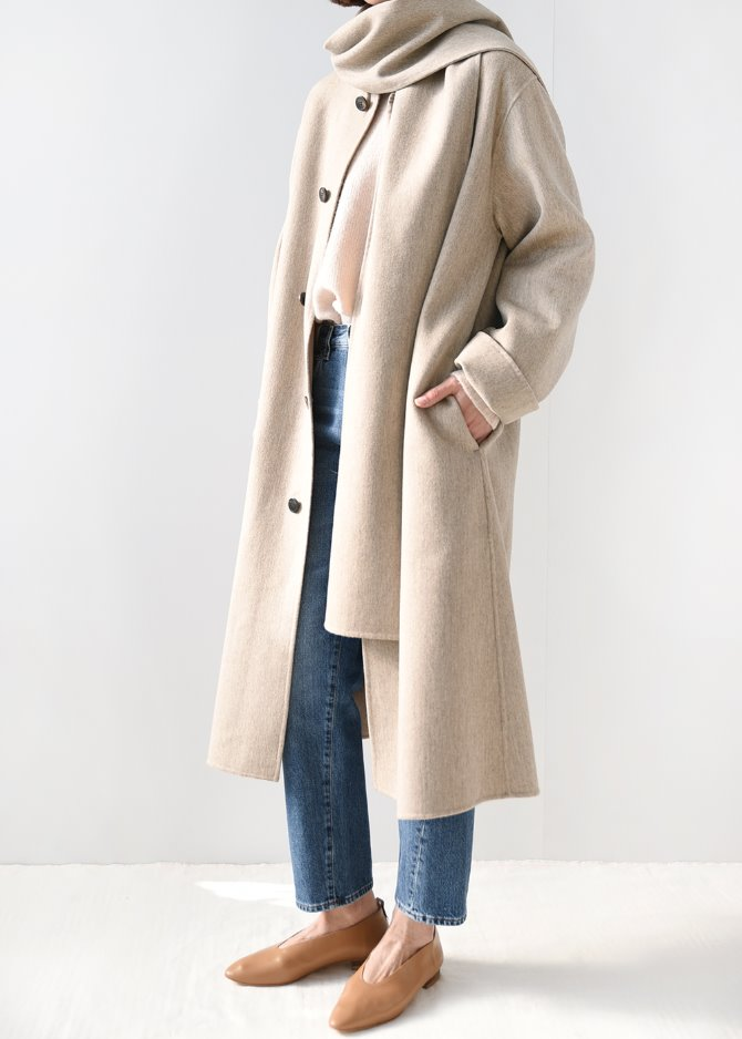 HD Drape Shawl Coat