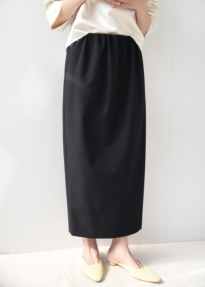 Gathered Volume Skirt