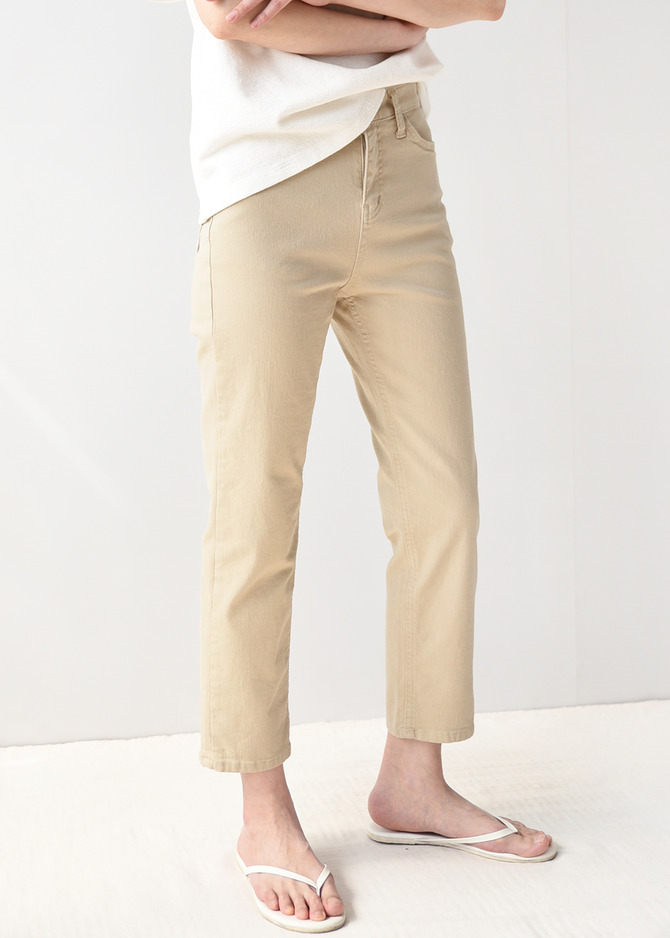 Stretched Chino Pants